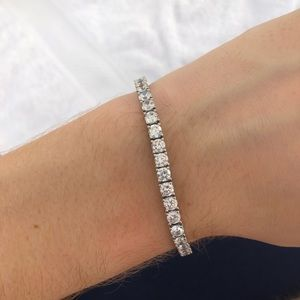 Jewelry - Synthetic Diamond Tennis Bracelet